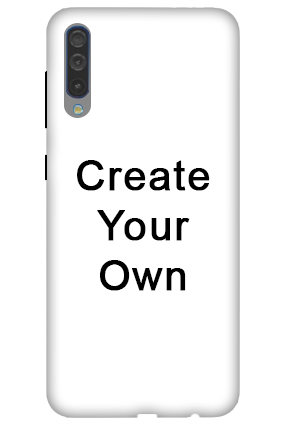 3D-Create Your Own Samsung A50 Mobile Cover