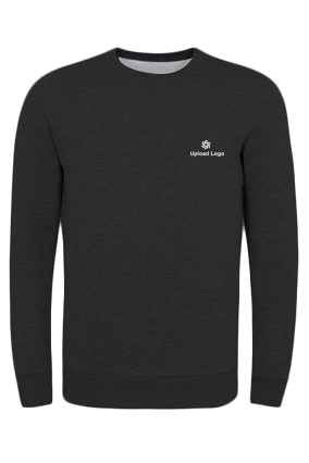 Business Promotional Upload Logo Black Seven Sweatshirt