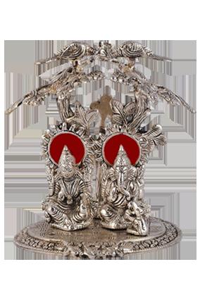 Silver Laxmi Ganesh Tree