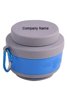 Sippon-108 Silicon Folding Sipper Skyblue