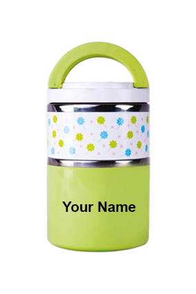 Sippon-8504 Two Layer Lunch Box Light Green