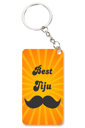 Best Jiju Small Rectangle Key Chain