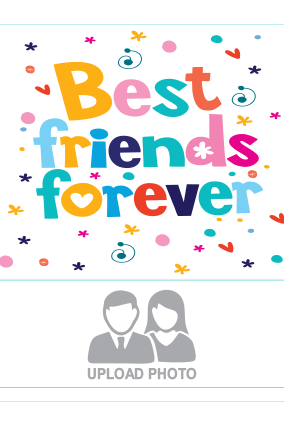 Best Friends Square Canvas Printing