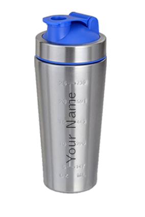 Personalized Steel Gym Shaker GM-227