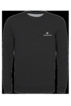 Corporate Upload Logo Black Umbro Sweatshirt