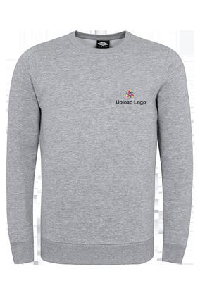 Business Upload Logo Gray Umbro Sweatshirt