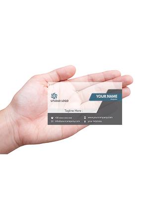 Professional Black Transparent Card