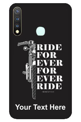 Vivo Y19 - Ride Forever Designer - Mobile Phone Cover