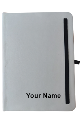 Effit White Notebook-Ruled