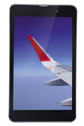 iBall Slide Wings 4GP Tablet, Silver chrome