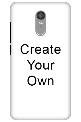 Redmi Note 4 - Create Your Own Mobile Cover