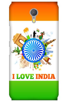 I Love India Lenovo ZUK Z1 Mobile Cover