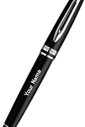 Waterman Expert Black Ct Roller Ball Pen