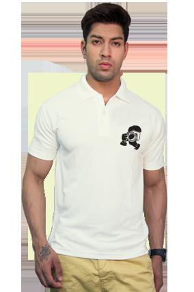 Effit Camera Click Collar T-Shirt