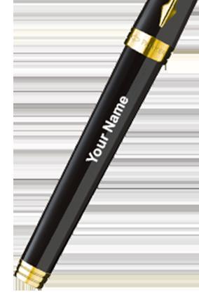Parker Premier Laque Black Gt Rb Pen