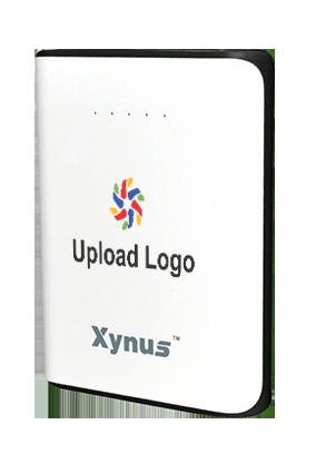 Upload Logo 10400mAh Xynus Power Bank Black