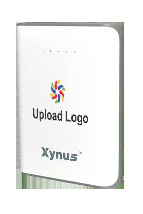 Customize Upload Logo 10400mAh Xynus Power Bank Gray