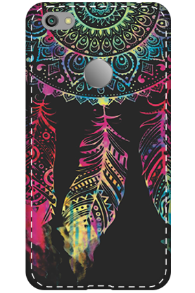 3D - Xiaomi Redmi Note 5A Abstract Design Mobile Cover