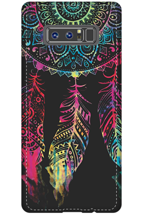 Personalised 3D-Samsung Galaxy Note 8 Abstract Design Mobile Cover