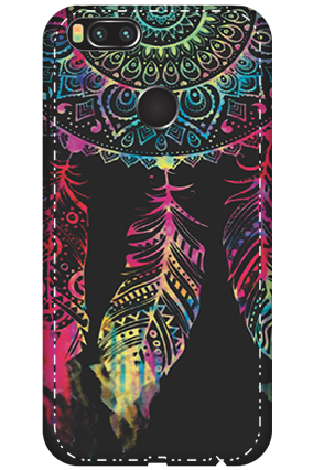3D - Xiaomi Mi A1 Abstract Design Mobile Cover