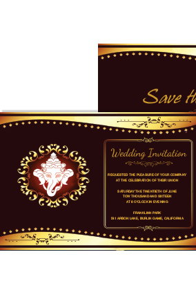 Amazing Great Wedding Invitation Card