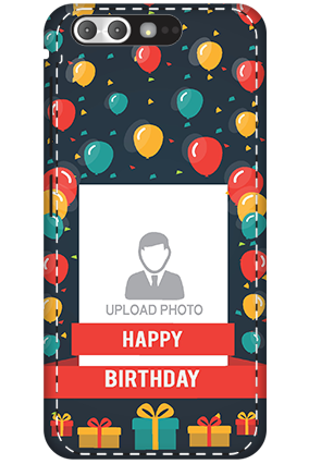 3D - Asus ZenFone 4 Pro Balloons Birthday Mobile Cover
