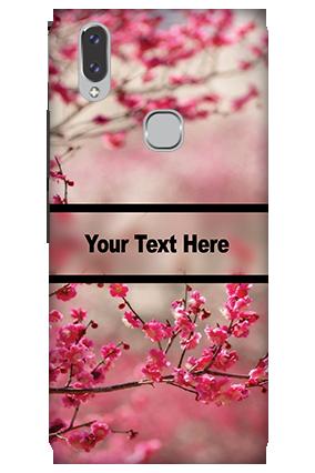 3D - Vivo V9 Autumn Flowers Mobile Cover