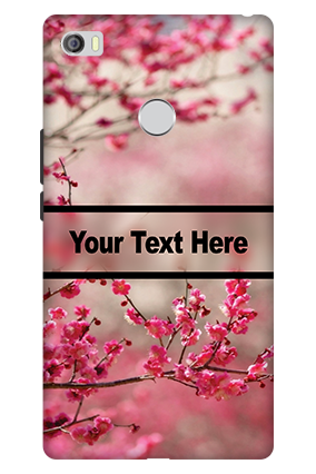 3D - Xiaomi Mi Max Autumn Flowers Mobile Cover