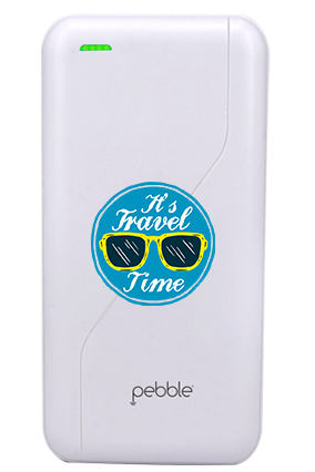 Create Your Own Pebble -PB66 - 20000mAh Power Bank - White