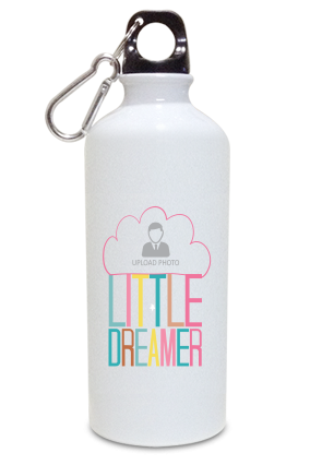 Little Dreamer Personalized Kids White Color Sipper