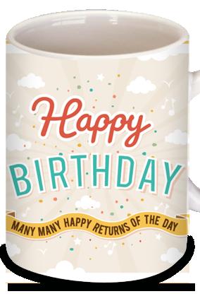 Birthday Balloon Coffee Mug