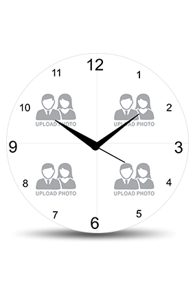 Upload Photo Wall Clock