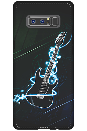 3D - Samsung Galaxy Note 8 Lightning Guitar Mobile Cover