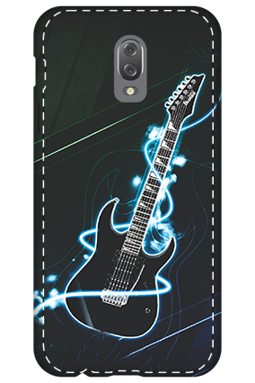 3D - Infinix Hot 4 Lightning Guitar Mobile Cover
