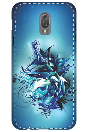 3D - Infinix Hot 4 Blue Pheonix Mobile Cover