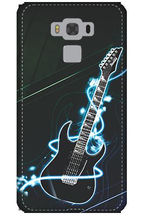 3D - Asus Zenfone 3 Max ZC553KL Lightning Guitar Mobile Cover