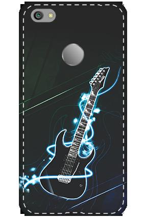 3D - Xiaomi Redmi Note 5A Lightning Guitar Mobile Cover