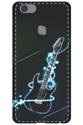 3D - Vivo V7 Plus Lightning Guitar Mobile Cover
