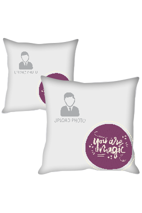 You are Magic Polyester Cushion Cover