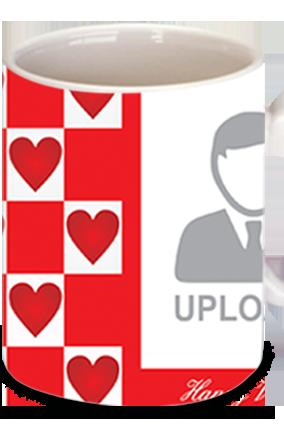 Awesome Love Goes Around Valentine's Day Coffee Mug