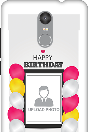 Custom 3D-Redmi Note 3 Birthday Greetings Mobile Cover