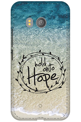 3D - HTC U11 Hope Message Mobile Cover