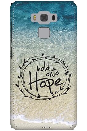 3D - Asus Zenfone 3 Max ZC553KL Hope Message Mobile Cover