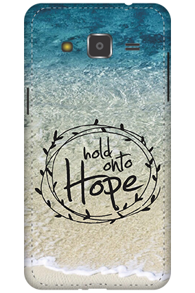 3D - Samsung Galaxy J2 Hope Message Mobile Cover