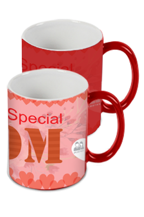 Amazing You're Special Mom Red Magic Mug