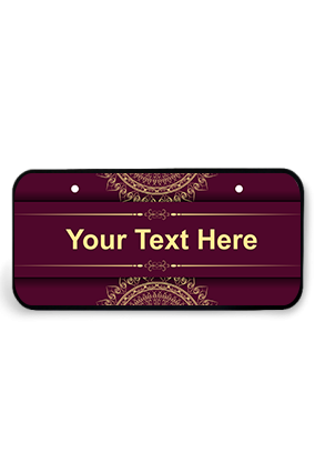 Nameplates Buy Personalized Name Plates Online In India Printland