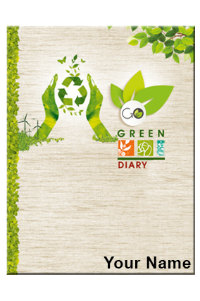 A-5 Natural & Go Green Diary 132