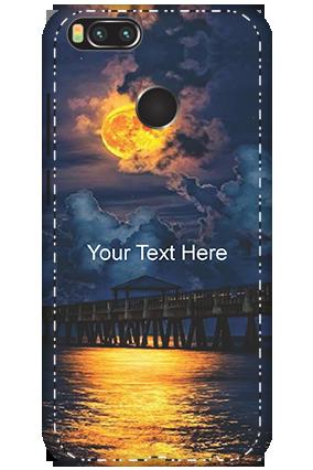 3D - Xiaomi Mi A1 Sunset Theme Mobile Cover