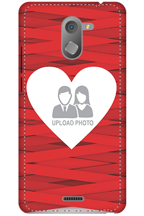 3D - Infinix Hot 4 Big Heart Valentine's Day Mobile Cover