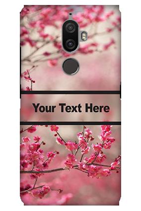 3D - Lenovo K8 Plus Autumn Flowers Mobile Cover